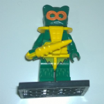 Masters of the Universe Merman Lego style Minifigure #2